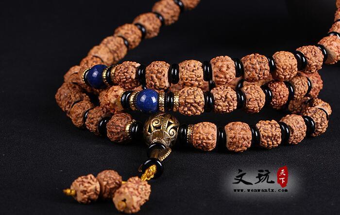 纯天然五瓣藏式打磨金刚菩提籽毛衣链 三种搭配款式可选