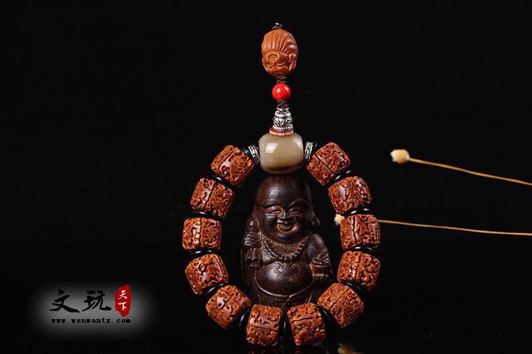 天然金刚藏式打磨桶珠泡油5五瓣无齿金刚菩提单圈佛珠手串菩提子