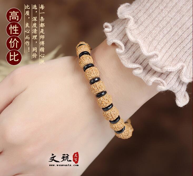 正宗龙鳞纹藏式金刚菩提5五瓣单圈佛珠手串 多种款式