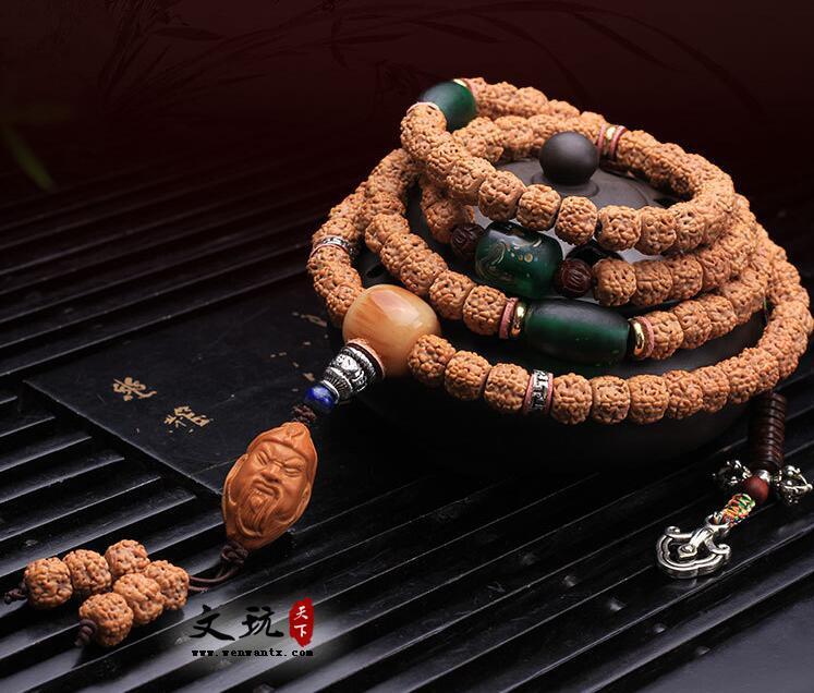 原创精品尼泊尔金刚菩提肉纹小金刚108颗佛珠手串民族风手链饰品